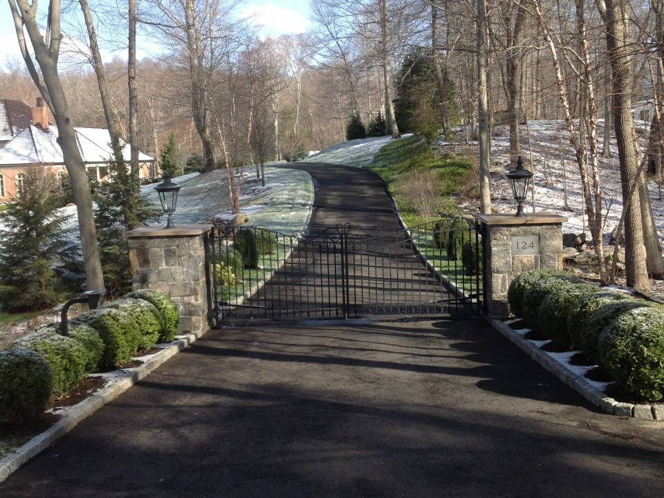 Stone Pillers and Automated Iron Gates