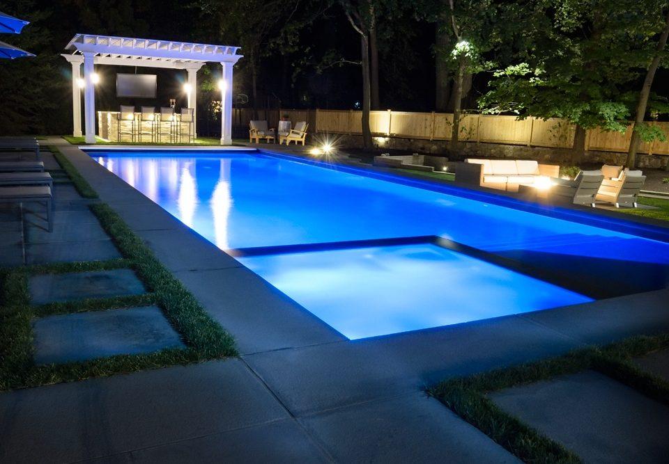 RGB LED pool lights